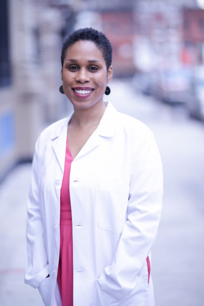 Photograph of Dr. Oni Blackstock
